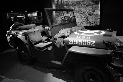 Jeep in Caen museum smaller