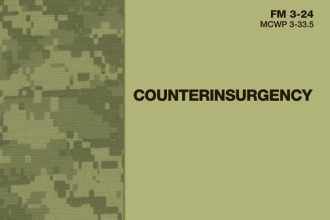 Cover of the U.S. Army's Counterinsurgency Manual